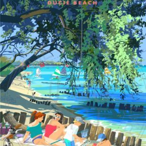 Bembridge Beach by artist Sue Stitt