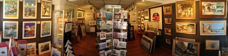 Robert Perera Fine Art Gallery Inside