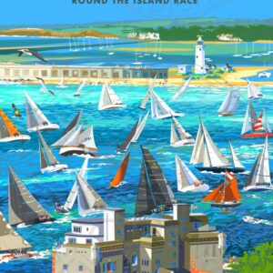 Hurst Narrows & Keyhaven by Sue Stitt print