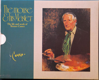 """Terence Cuneo artist book """"The Mouse & His Master"""""""