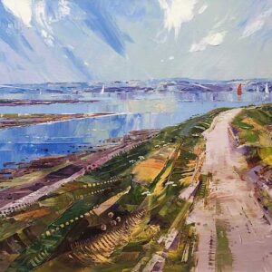 Richard Tratt Artist Solent Way