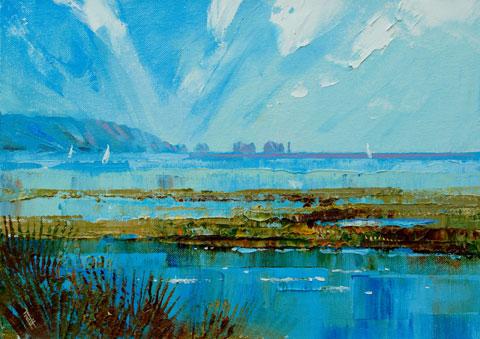 The Needles Isle of Wight by Richard Tratt