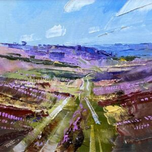 Richard Tratt Artist Heather Valley