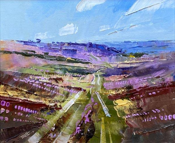 Richard Tratt Artist Heather Valley
