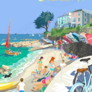 Seaview Isle of Wight by Sue Stitt Print