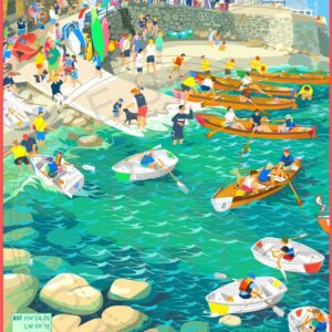 Seview Regatta Isle of Wight by Sue Stitt Print