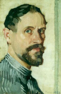 Pierre Adolphe Valette artist - self portrait 1922