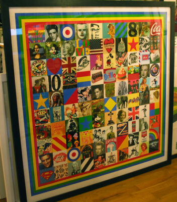 100 Sources of Pop Art by artist Sir Peter Blake