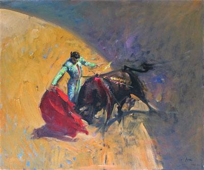 "Terence Cuneo Artist ""The Matador"""