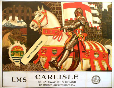 Carlisle Original Railway Poster