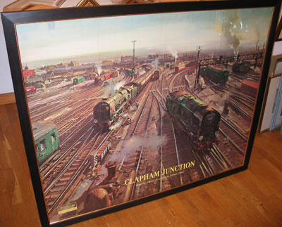 """Terence Cuneo Artist """"Clapham Junction"""""""