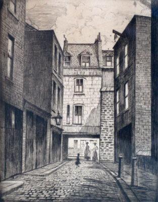 C.R.W. Nevinson, London