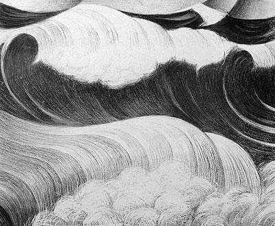 C.R.W. Nevinson, Wave
