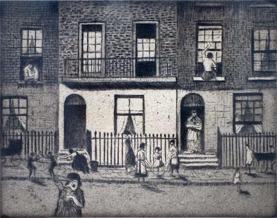 C.R.W. Nevinson, Any London Street