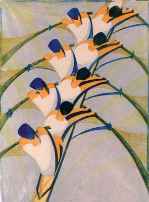 CYRIL POWER(1872-1951) The eight original linocut