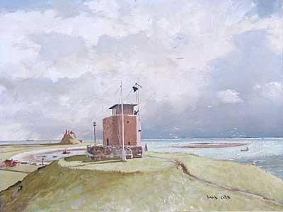 """Coast Guard Station Lindisfarne"" - David Cobb"