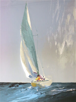 """Sailing into the Rain (1986)"" by Donald Hamilton Fraser"