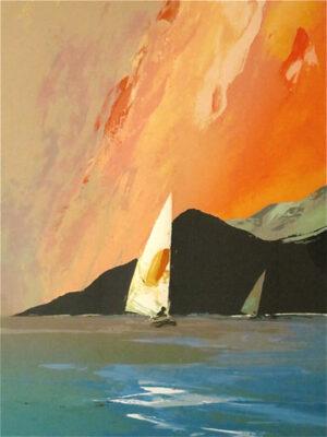 "Donald Hamilton Fraser - ""Approaching Storm - 1985"""