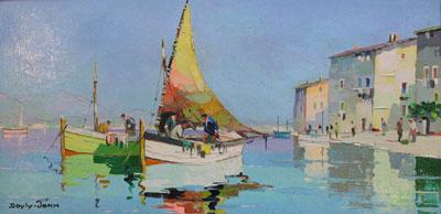 D'oyly-John Artist Original Signed Framed Oil Painting