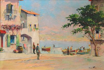 Early Painting C.R.Doyly-John
