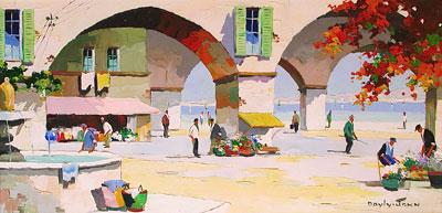 C.R.Doyly-John Original Signed Framed Oil Painting