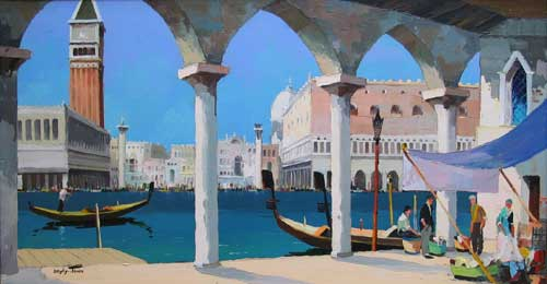 Doyly John Artist Venice Robert Perera
