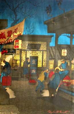 "ELIZABETH KEITH (1887-1956) ""Night Scene Peking"""