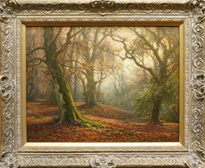 Frederick Golden Short - New Forest Artist Oil Painting - F.G.Short