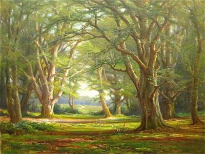 Frederick Golden Short New Forest Artist