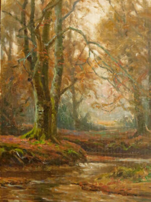 Frederick Golden Short - New Forest Artist Oil Painting