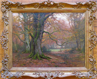 Glade - Frederick Golden Short - New Forest Artist - Oil Painting - F.G.Short