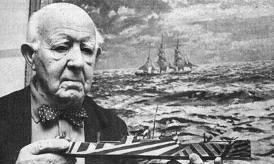 Norman Wilkinson Artist - Dazzle ship