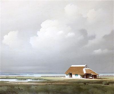 Pierre de Clausade french artist landscape