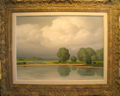 Landscape Pierre de Clausade French artist