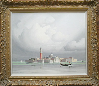 """Venice"" Pierre de Clausade French artist"