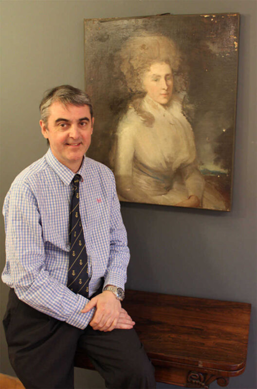 Robert Perera Fine Art Buyer in Lymington