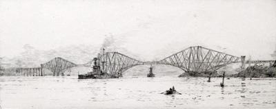 Rowland Langmaid Marine Artist - Forth Bridge