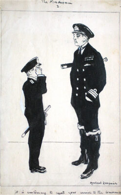 Rowland Langmaid Marine Artist - The Midshipman