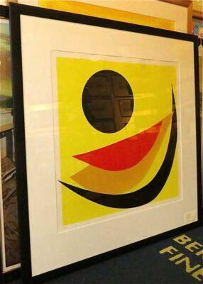 "Sir Terry Frost Artist - ""Lizard Black II"""