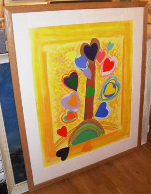 "Sir Terry Frost RA Artist - ""Yellow Love Tree"""