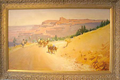 """""""Ethiopia"""" by artist Terence Cuneo"""