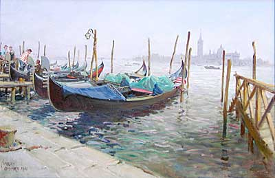 """Grand Canal Venice"" by Terence Cuneo Railway artist"