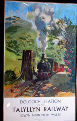 """Talyllyn Railway"" by artist Terence Cuneo"