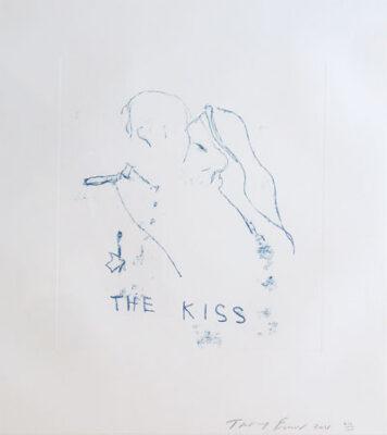 The Kiss - Tracey Emin RA Artist