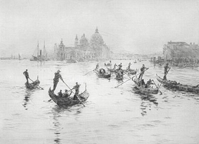 W.L.Wyllie Grand Canal Venice