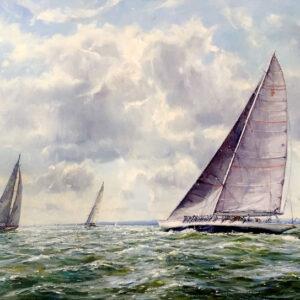 Barry Peckham J Class Yachts K5