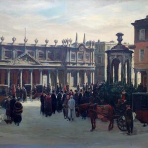 Charles Cundall Bath Spa signed Painting