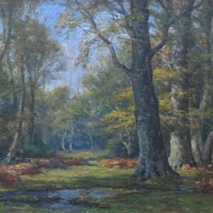 Frederick Golden Short New Forest view