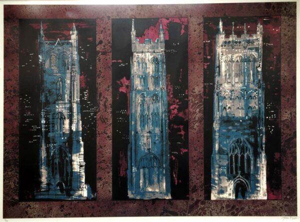 John Piper Artist Silkscreen Signed Print