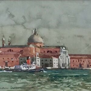 Norman Wilkinson Venice watercolour